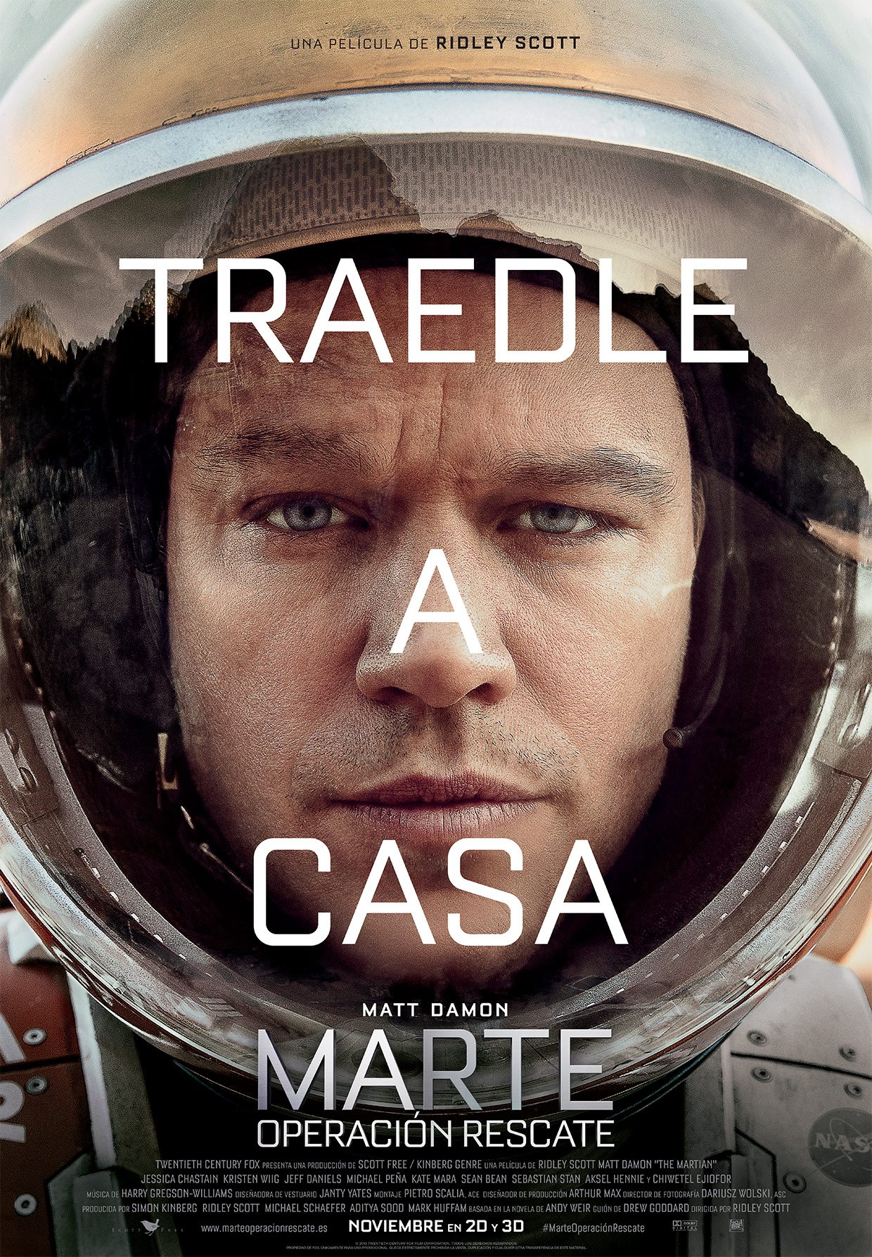 Trailer de Marte (The Martian)